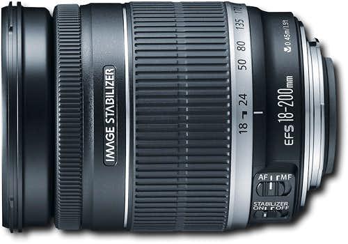 Canon - 18-200mm f/3.5-5.6