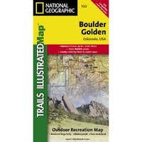 Boulder/Golden, Colorado, USA Outdoor Recreation Map (National Geographic Maps: Trails Illustrated)