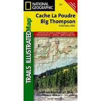 Cache La Poudre/Big Thompson Trails Illustrated Map # 101