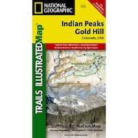 Indian Peaks/Gold Hill Trails Illustratd Map #102