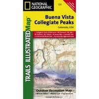 Buena Vista/Collegiate Peaks CO natg (National Geographic Maps: Trails Illustrated Map # 129)