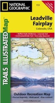 Leadville & Fairplay, Colorado - Trails Illustrated Map # 110