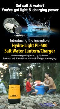 Water Activated lantern